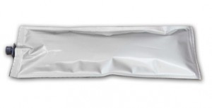 HP8000 ink bag with premium, degassed solvent ink that works better than the OEM ink