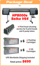 Recovery kits for Seiko 64s, V64, HP9000s and 8000s